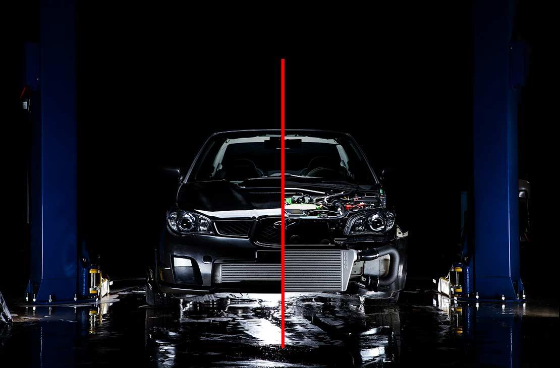 Cobb Tuning Subaru Front Mount Intercooler Kit Black