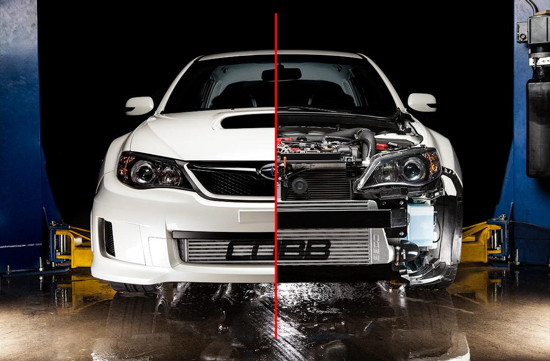Subaru Of Plano >> COBB Tuning - Subaru Front Mount Intercooler Kit (Silver) STI 2011-2014