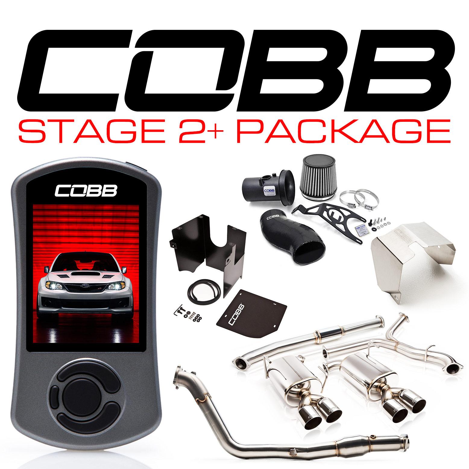 Subaru 11-14 STI Sedan Stage 2+ Power Package w/V3