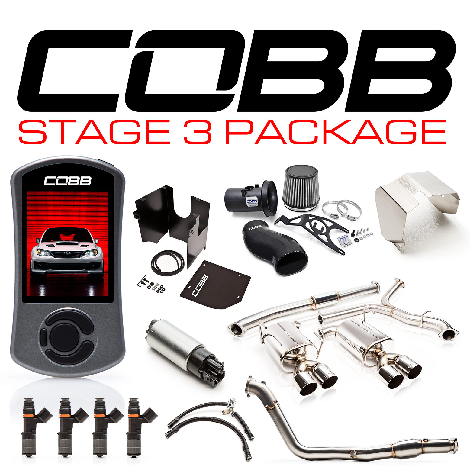 Subaru Stage 3 Power Package STI Sedan 2011-2014