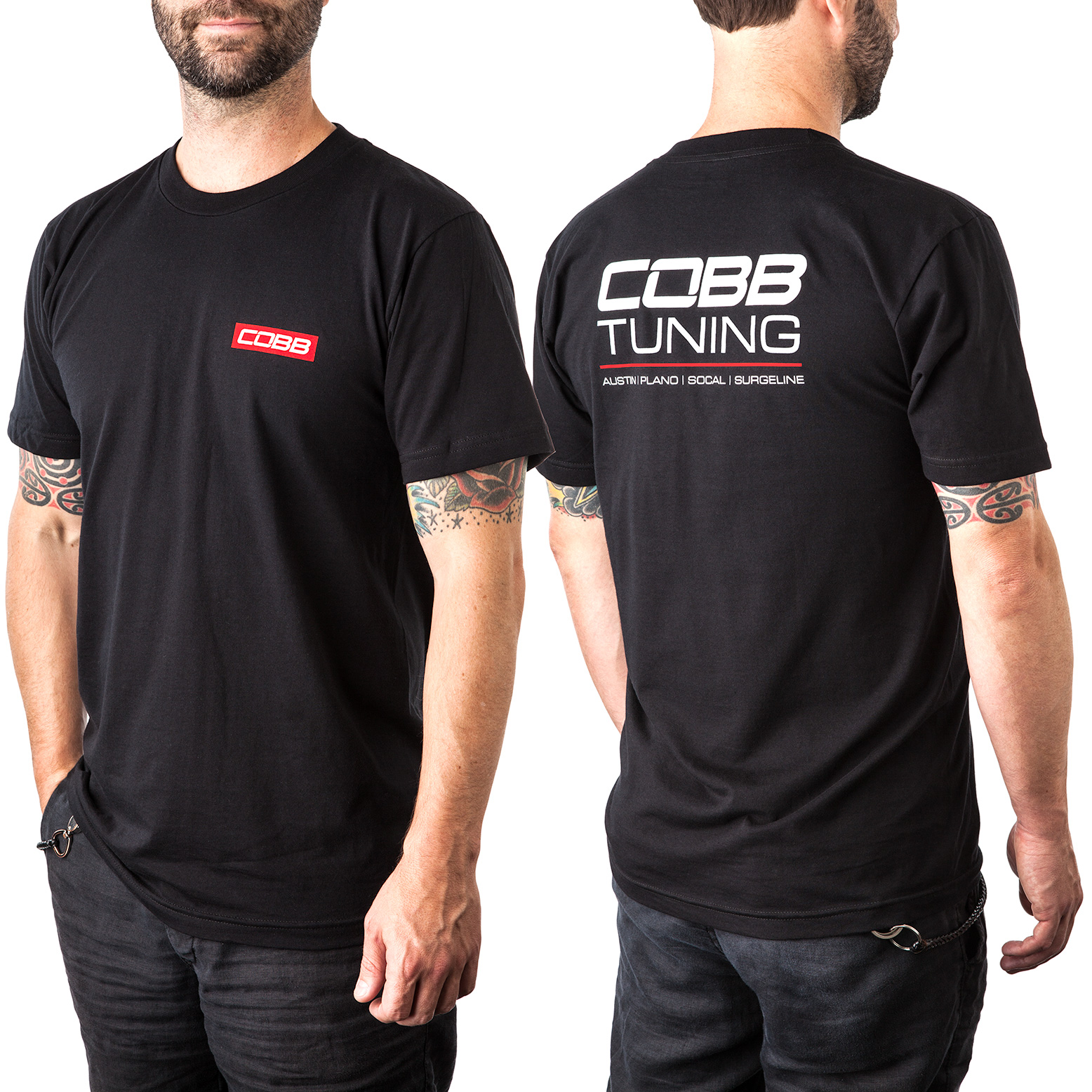 COBB Tuning Shops T-Shirt - Men's Black