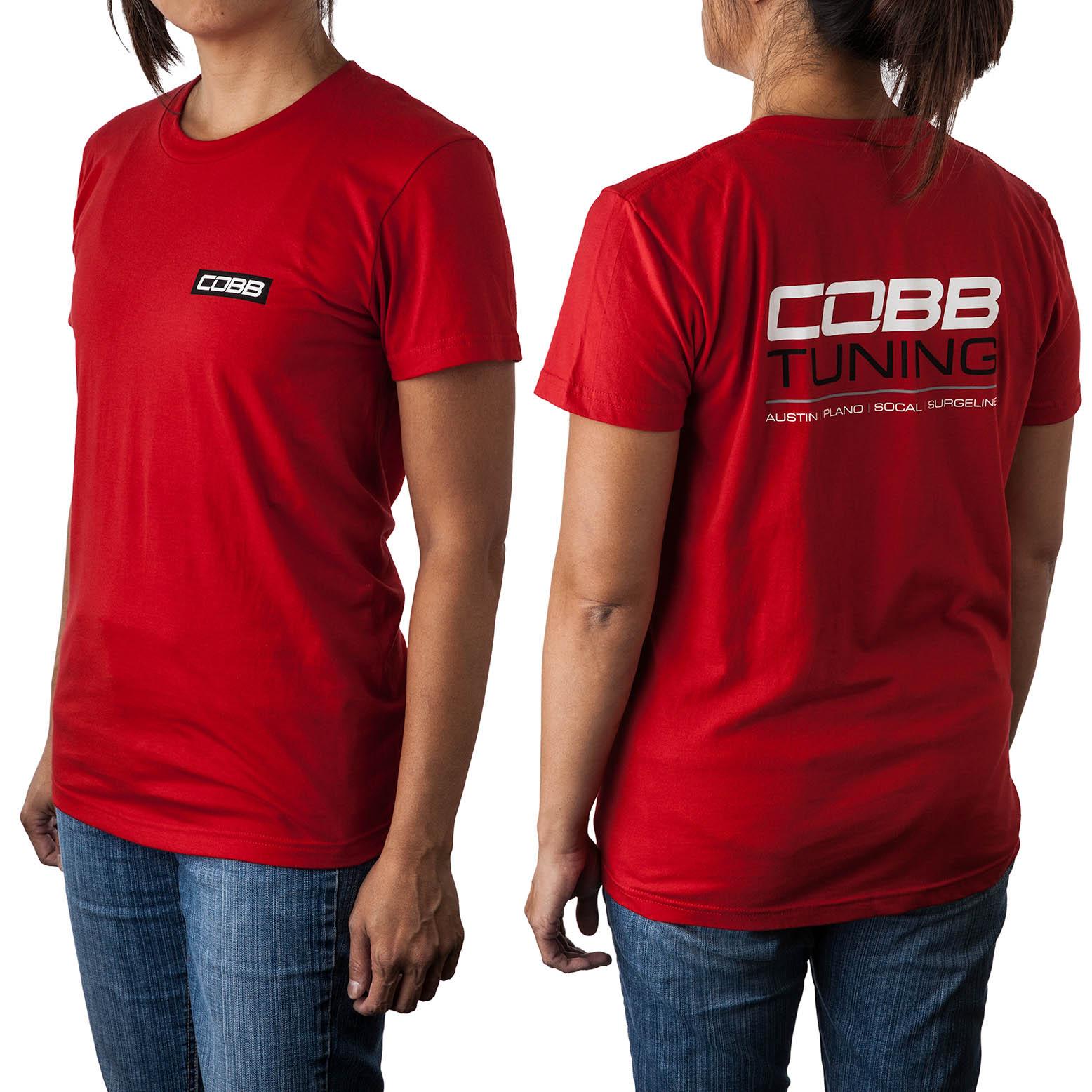 COBB Tuning Shops T-Shirt - Women's Red