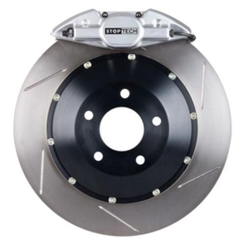 Stoptech ST-22 Big Brake Kit Rear 345mm Silver Slotted Rotors Subaru STI 2005-2014