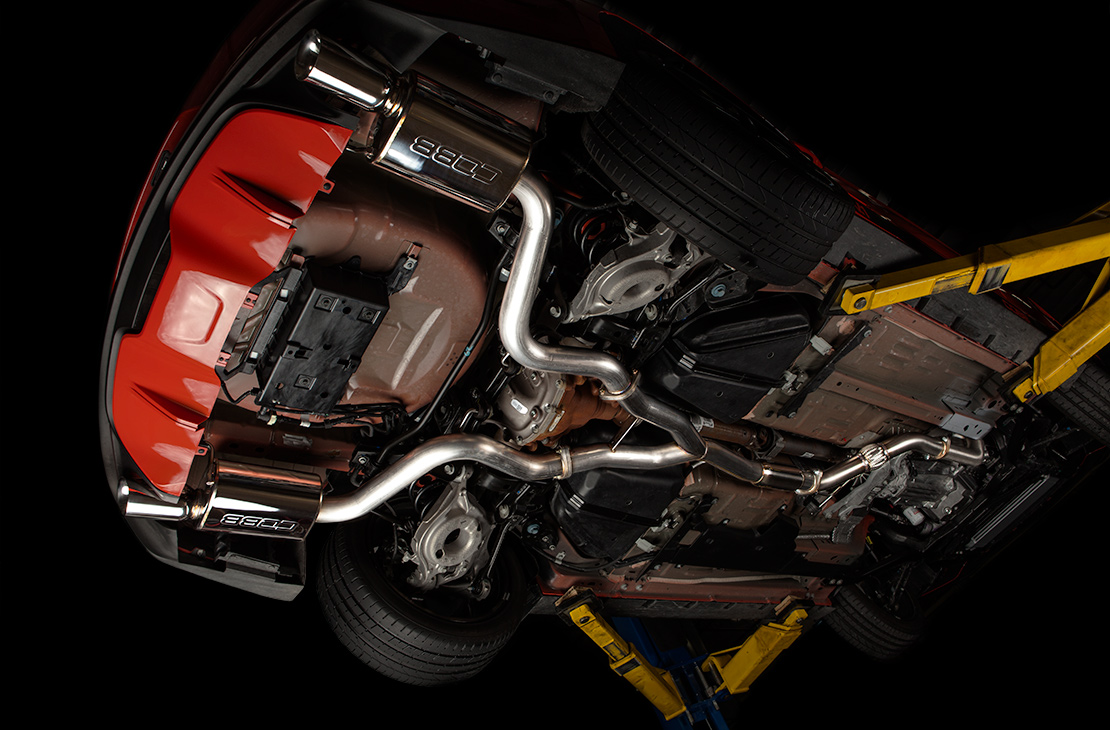 Ford Turboback Exhaust Mustang Ecoboost 2017