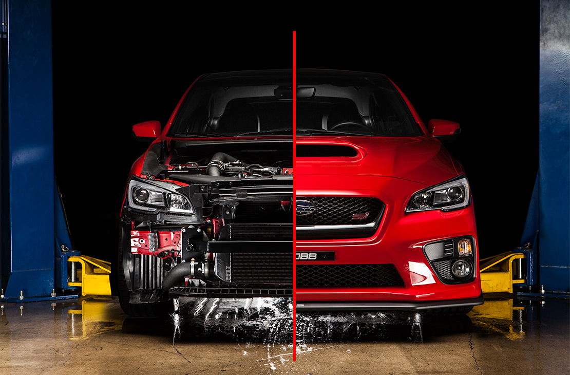Subaru Hot Pipe Kit STI 2015-2019