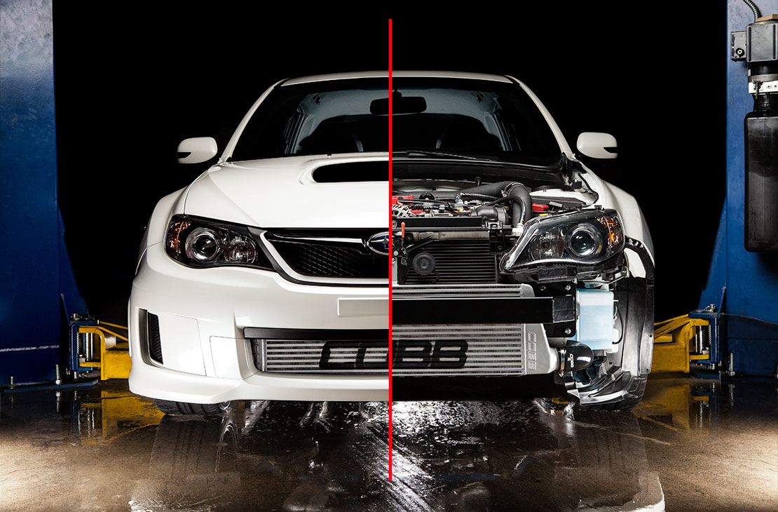 Subaru Of Plano >> COBB Tuning - Subaru Front Mount Intercooler Core Silver STI / WRX 2011-2014