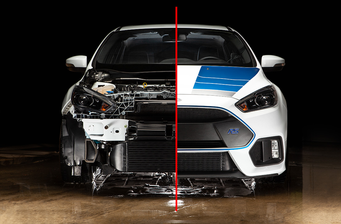 Ford Stage 2+ Power Package Silver Focus RS 2016-2018