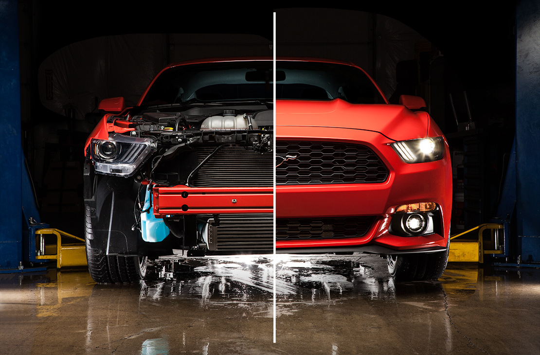 Ford Front Mount Intercooler Mustang Ecoboost 2015-2018