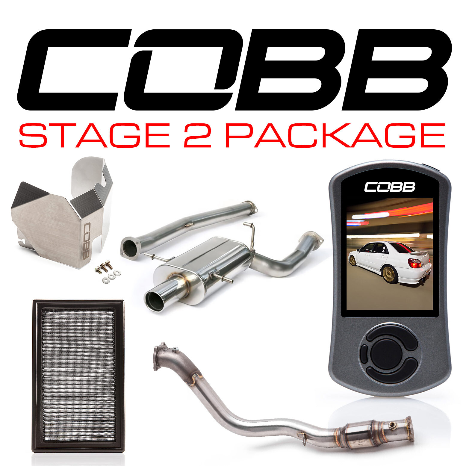 Subaru 06-07 WRX Stage 2 Power Package w/V3