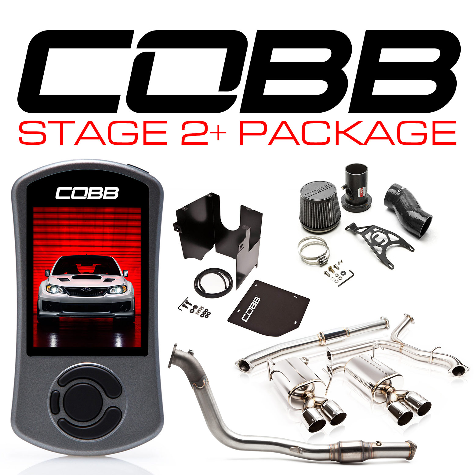 Subaru Australia Stage 2+ Power Package STI Sedan 2011-2014