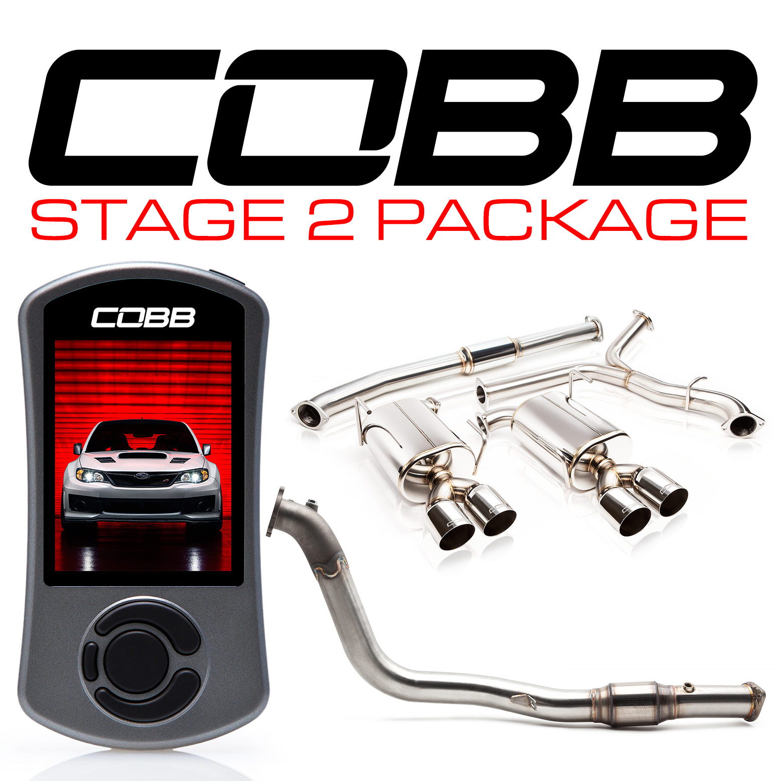 Subaru Stage 2 Power Package STI Sedan 2011-2014