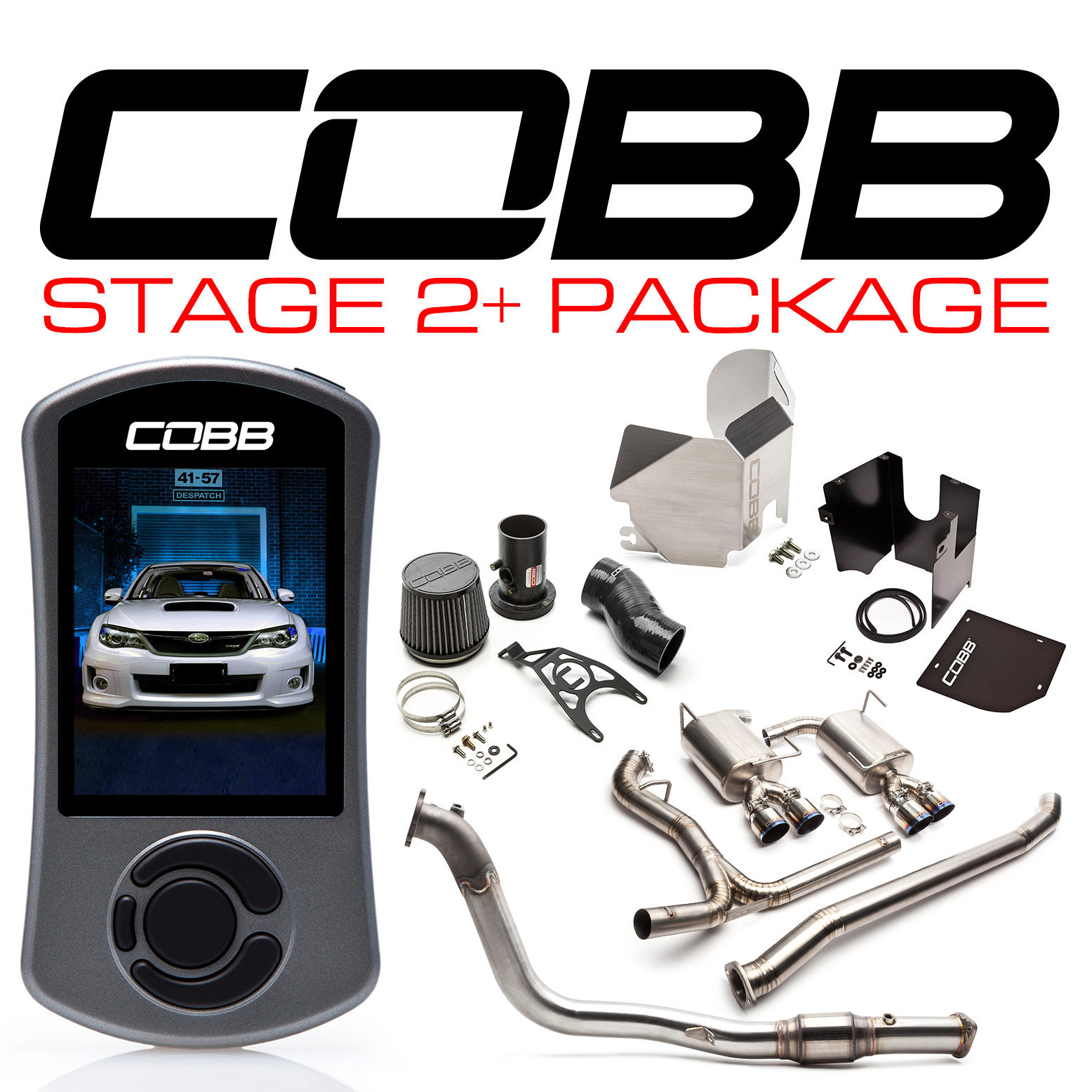 Subaru Stage 2+ Power Package Titanium WRX Sedan 2011-2014