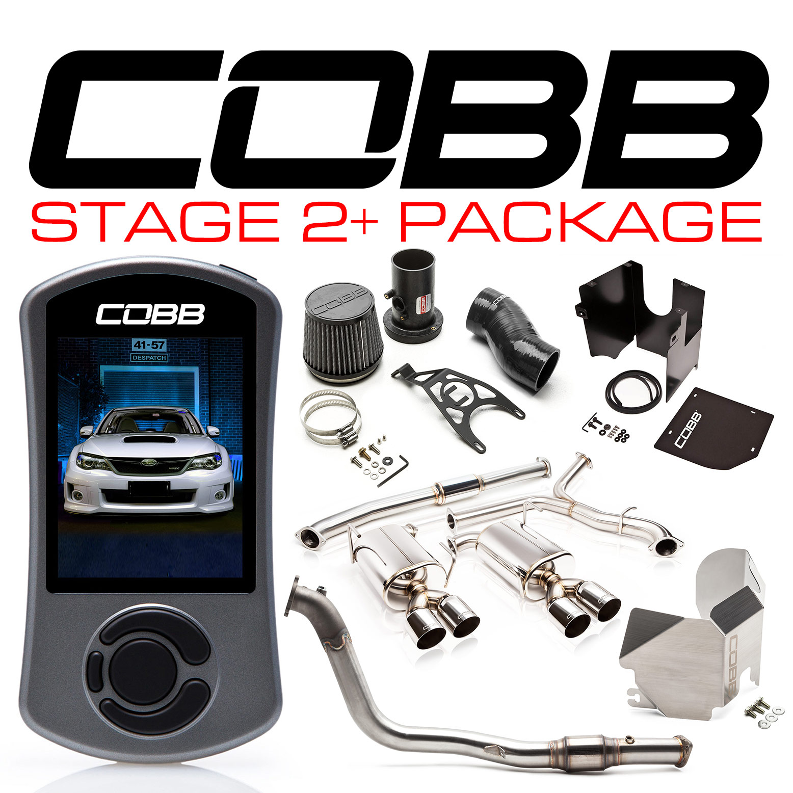 Subaru Stage 2+ Power Package WRX Sedan 2011-2014