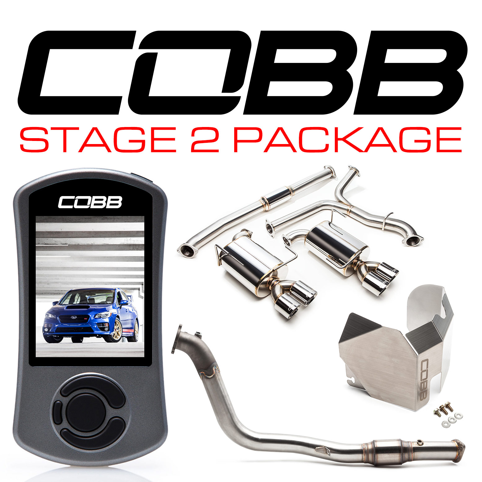 Subaru Australia Stage 2 Power Package STI 2015-2019