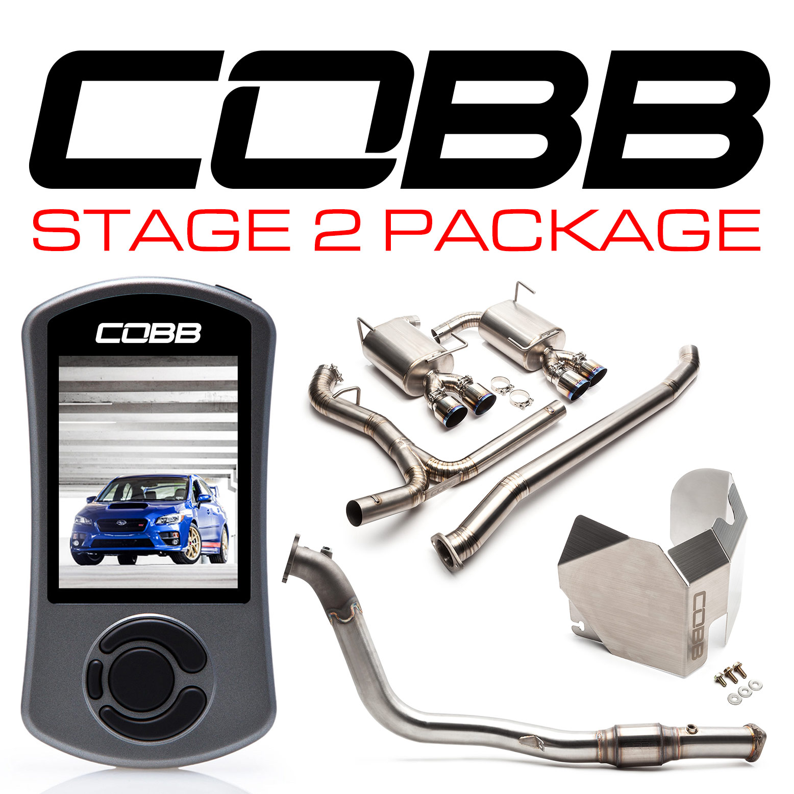 Subaru Stage 2 Power Package Titanium STI Sedan 2015-2019, STI Type RA 2018
