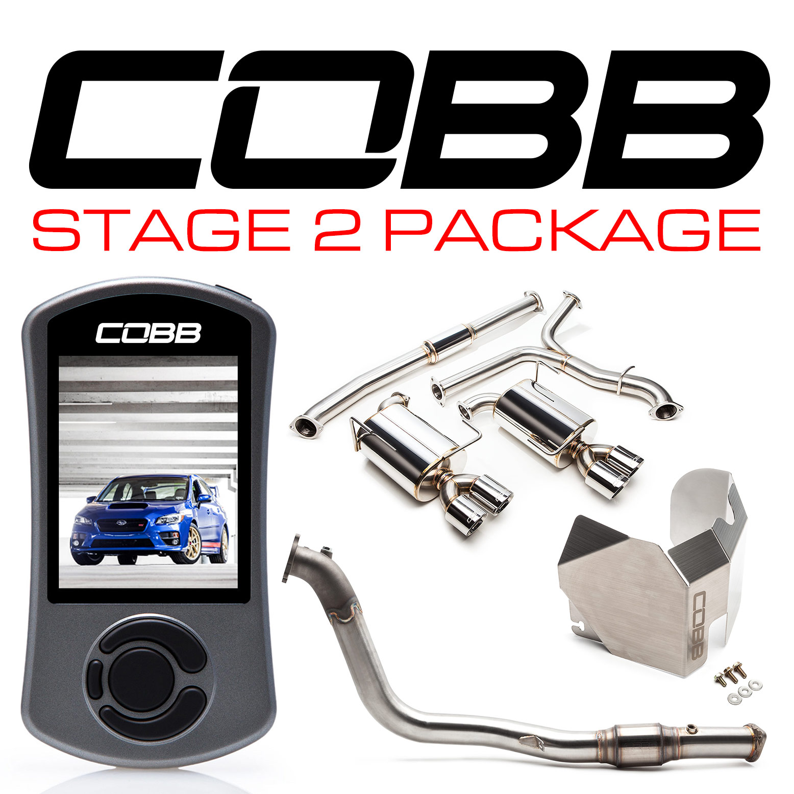 Subaru Stage 2 Power Package STI 2015-2018, STI Type RA 2018