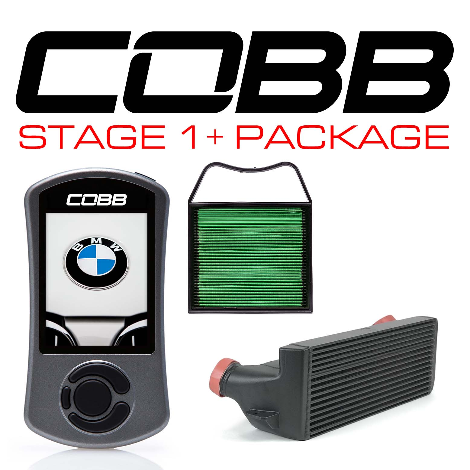 BMW N54 Stage 1+ Power Package Black
