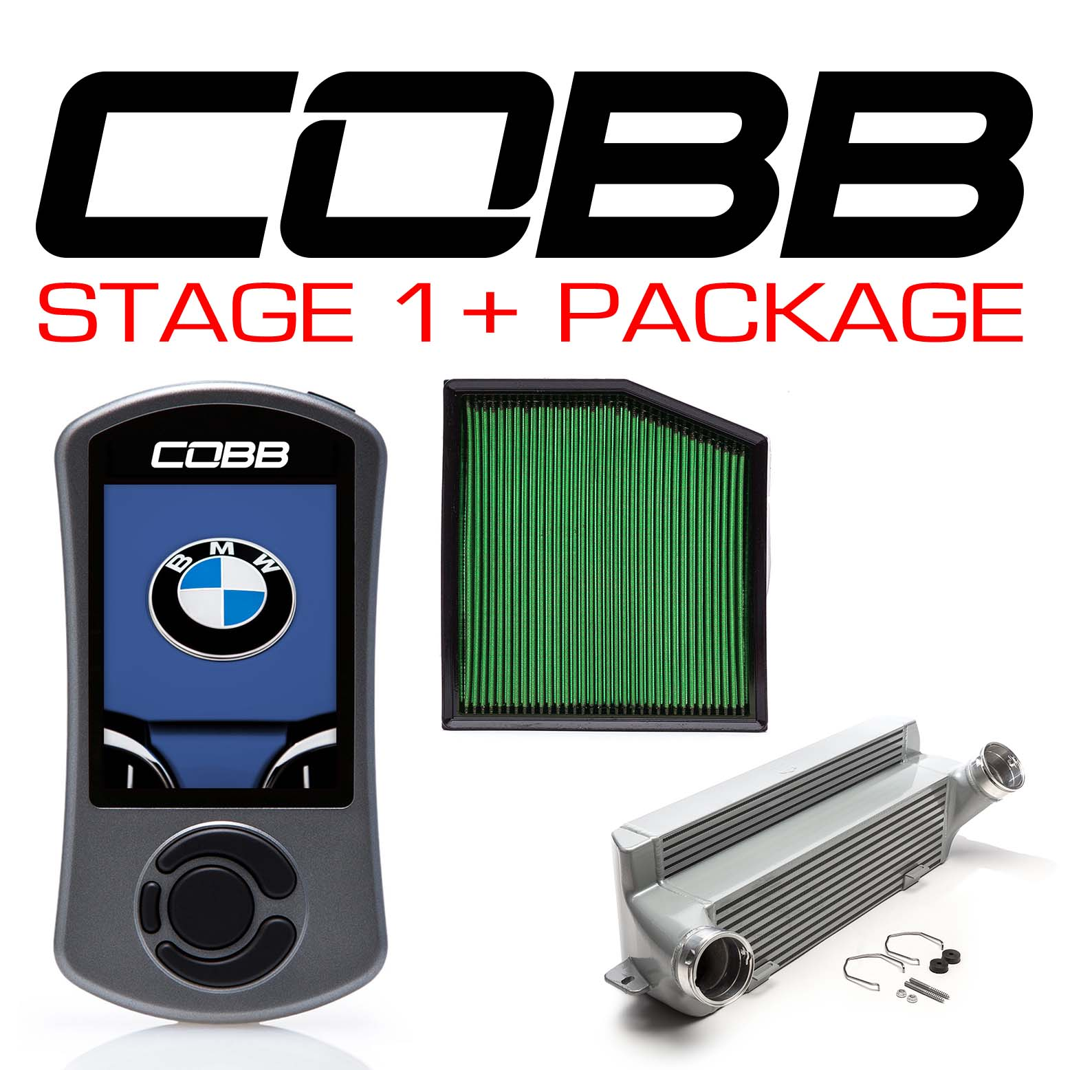 BMW N55 Stage 1+ Power Package Silver