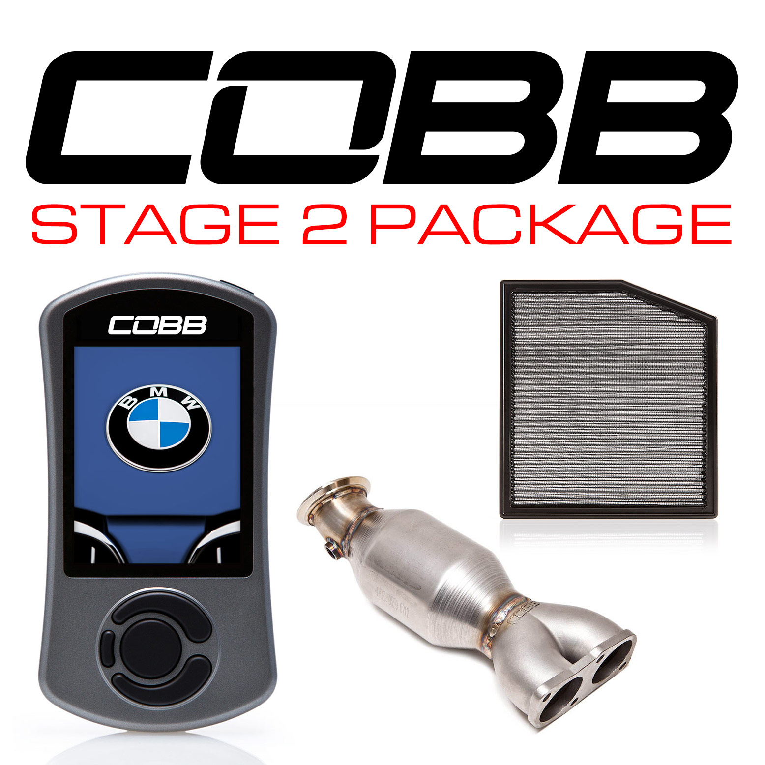 COBB Tuning - BMW N55 Stage 2 Power Package with V3