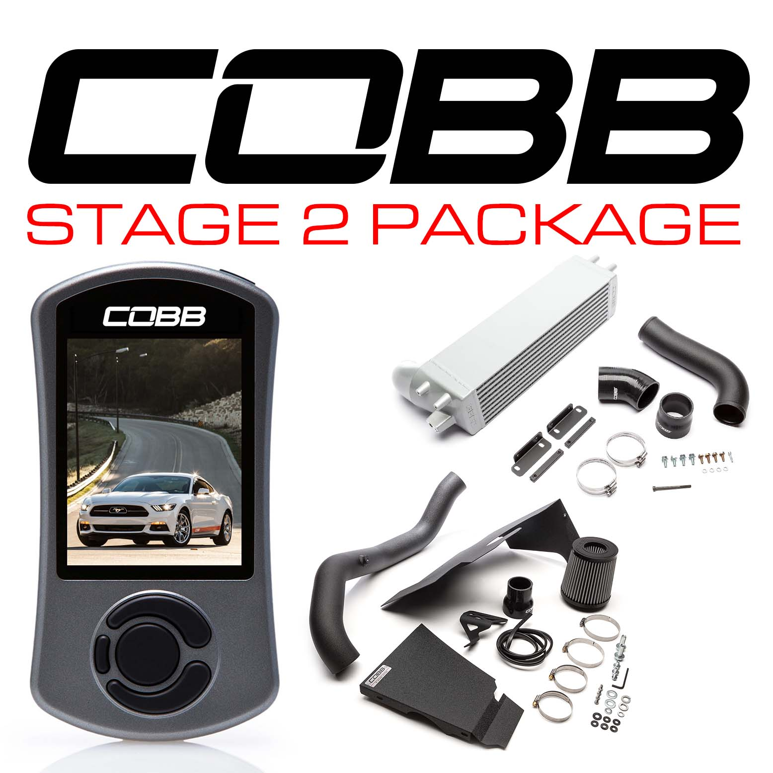 Ford Stage 2 Power Package Mustang Ecoboost 2015-2020