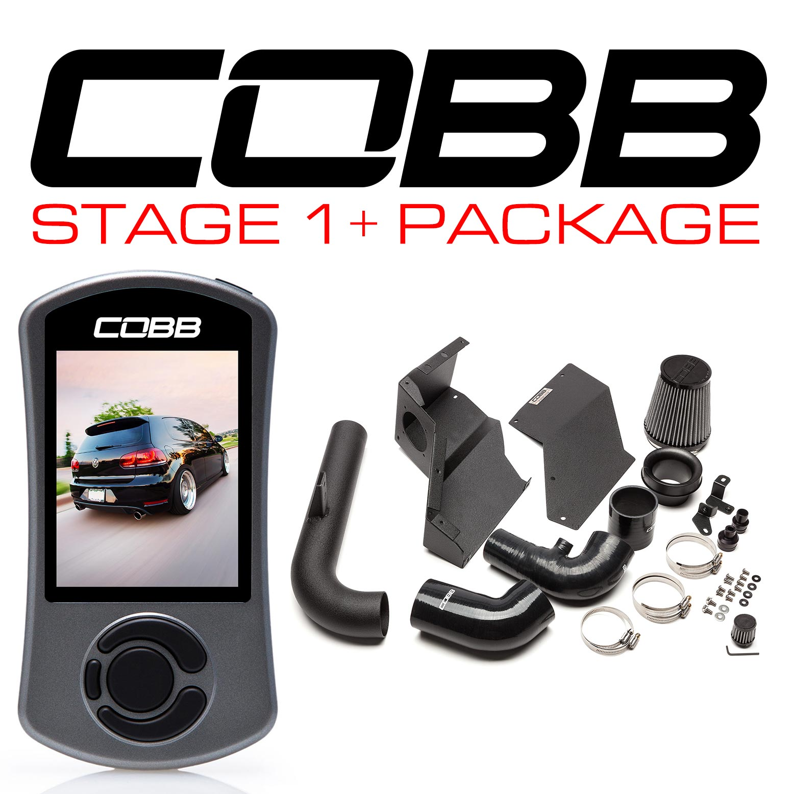 Volkswagen Stage 1 + Power Package GTI (Mk6) 2010-2014 USDM, 2009-2013 WM