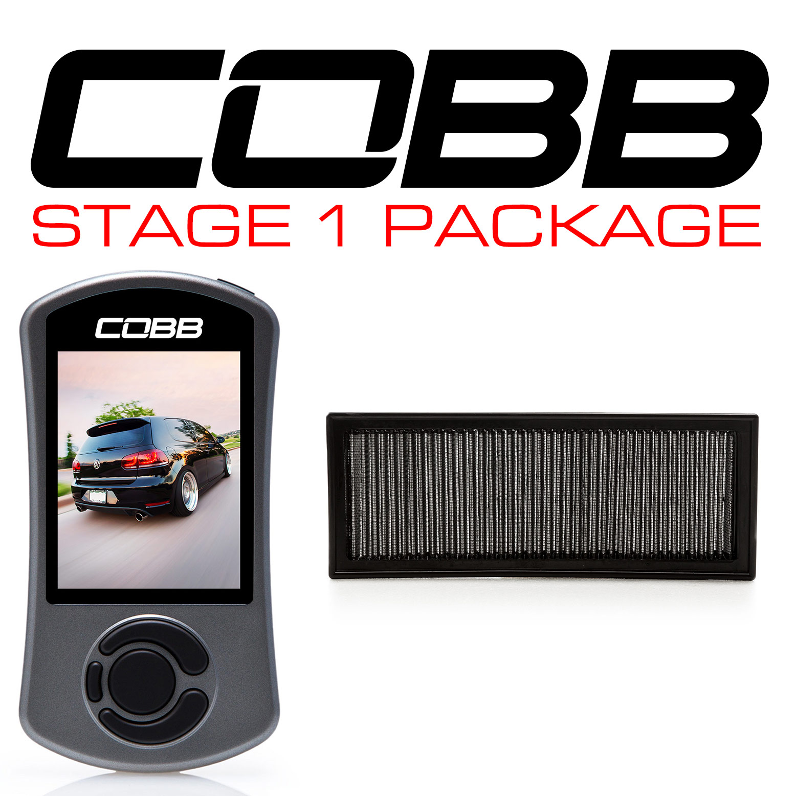 Volkswagen Stage 1 Power Package GTI (Mk6) 2010-2014 USDM, 2009-2013 WM