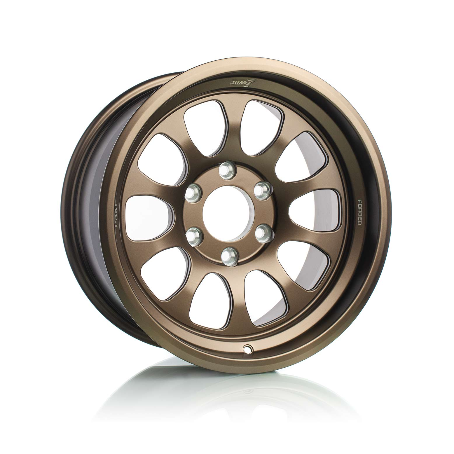 Titan7 T-AK1 Forged Off-Road Wheel Techna Bronze, F-150 2017-2020, Raptor 2017-2020