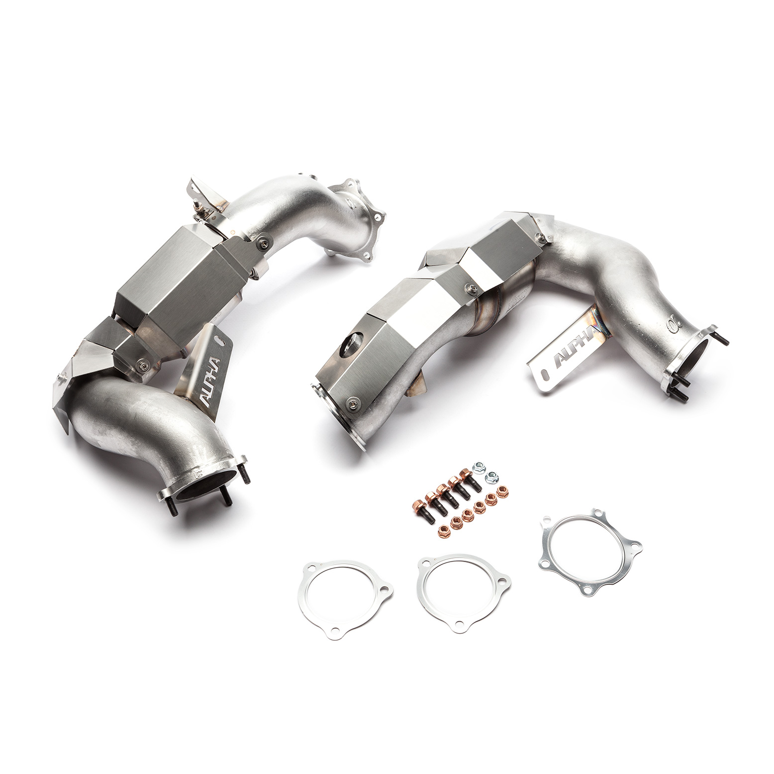 Alpha Performance Downpipes for Porsche Macan S / GTS / Turbo 2015-2018