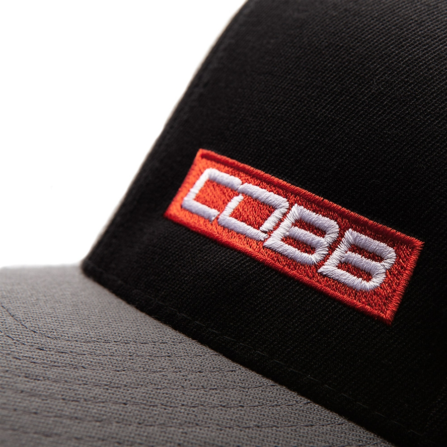 Black-Gray Snapback COBB Cap