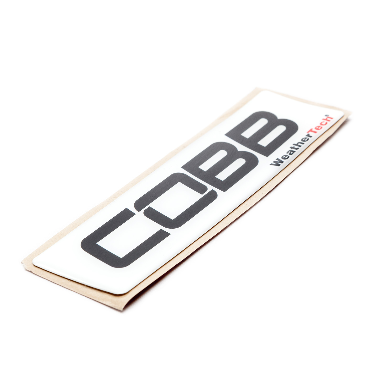 COBB WeatherTech FloorLiner Badge