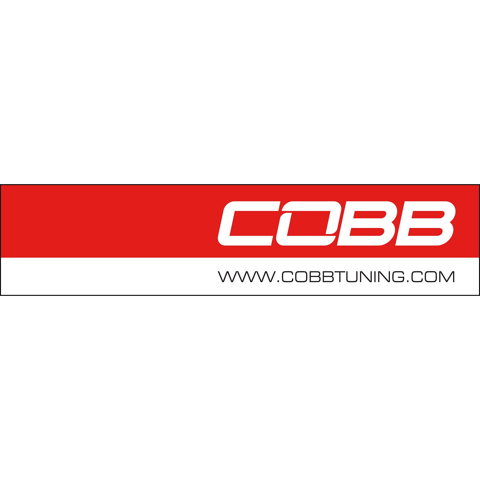 COBB 8x2ft Hanging Vinyl Banner