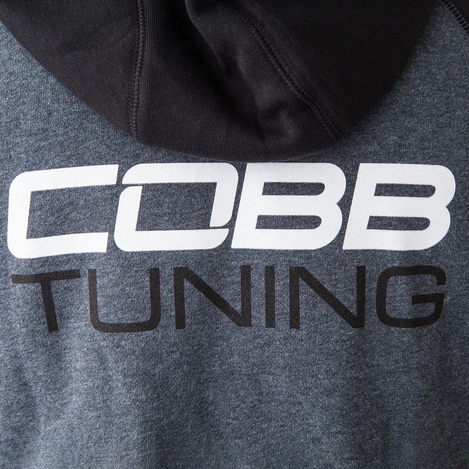 COBB Tuning Logo Full-Zip Hoodie - Men's Grey/Black