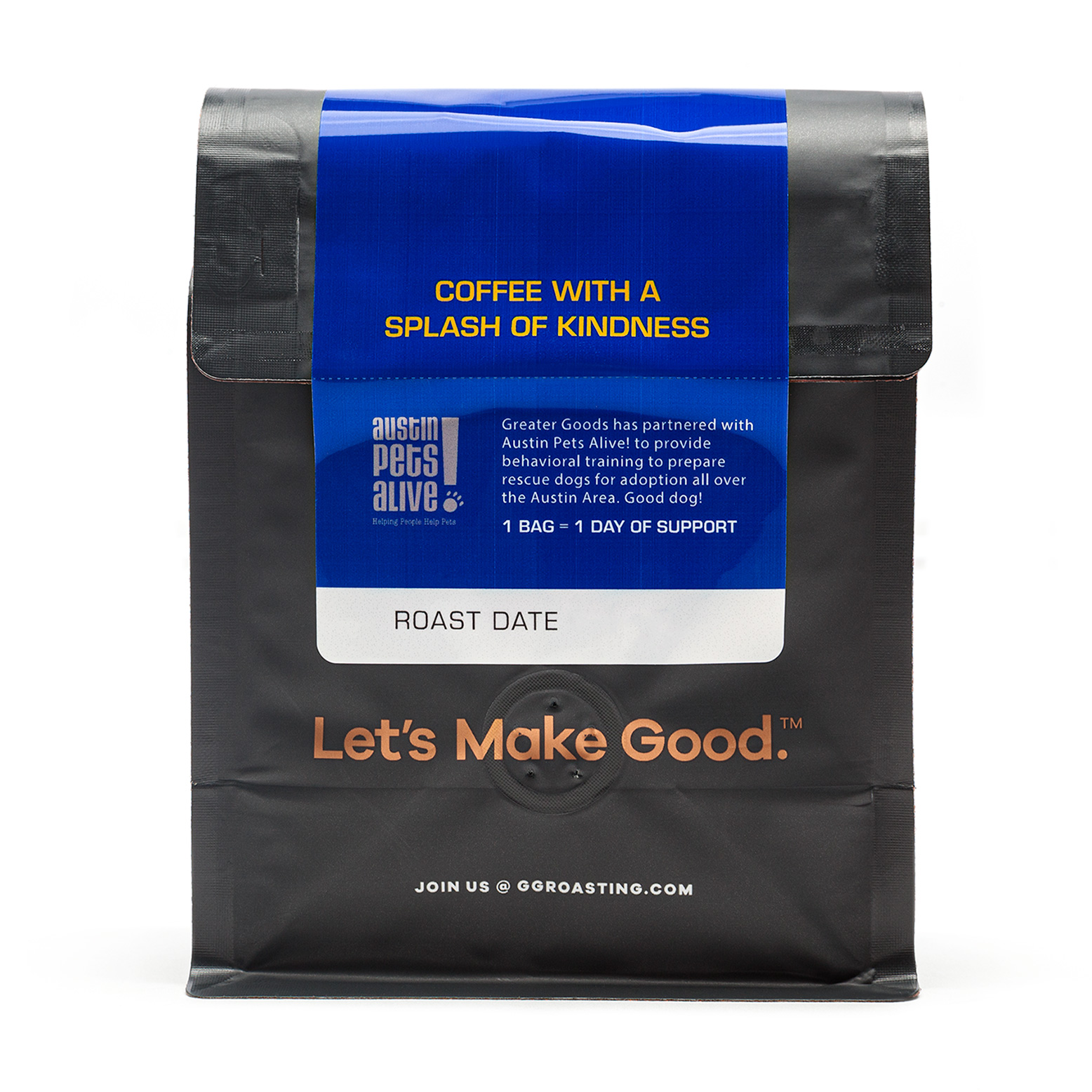 Greater Goods COBB 20 Anniversary Blend coffee