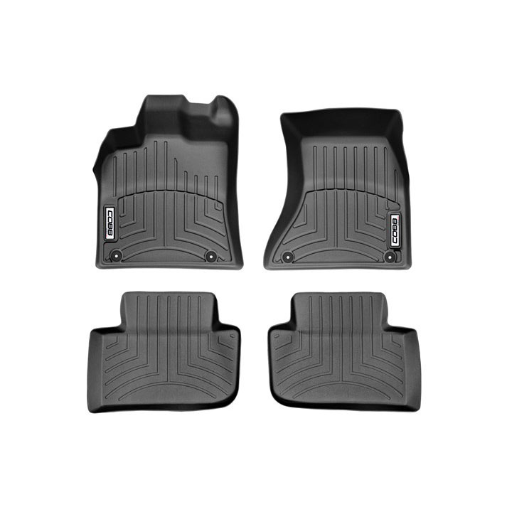 COBB x WeatherTech FloorLiner and Rear FloorLiner Set Porsche Macan S / Turbo / GTS 2015-2018