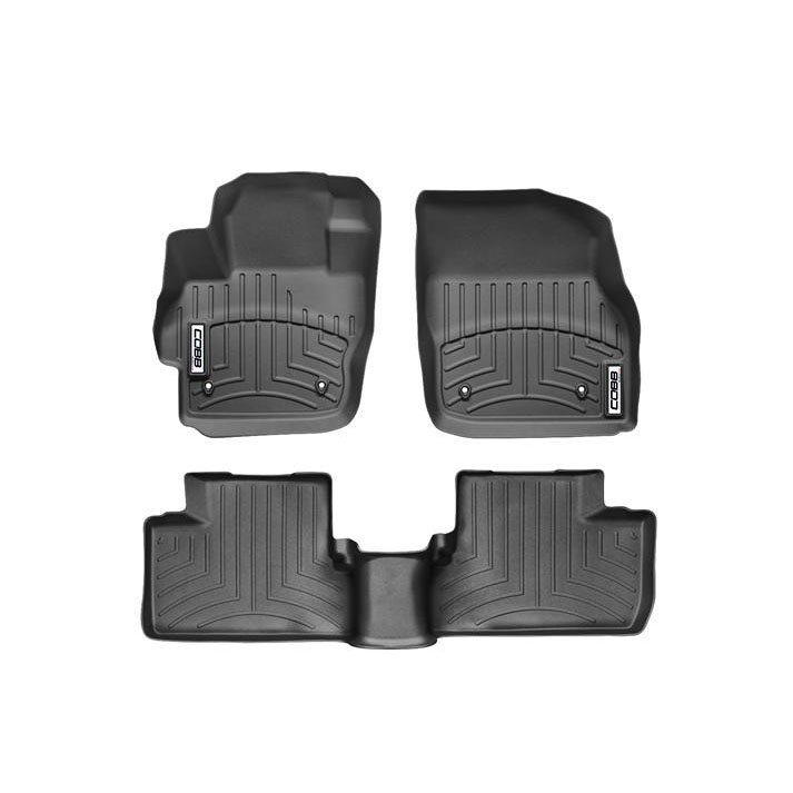 COBB x WeatherTech FloorLiner and Rear FloorLiner Set Mazdaspeed3 2010-2013