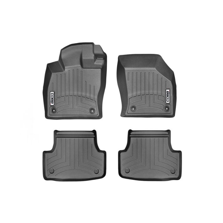 COBB x WeatherTech FloorLiner and Rear FloorLiner Set for VW GTI, Golf R, Audi S3, A3