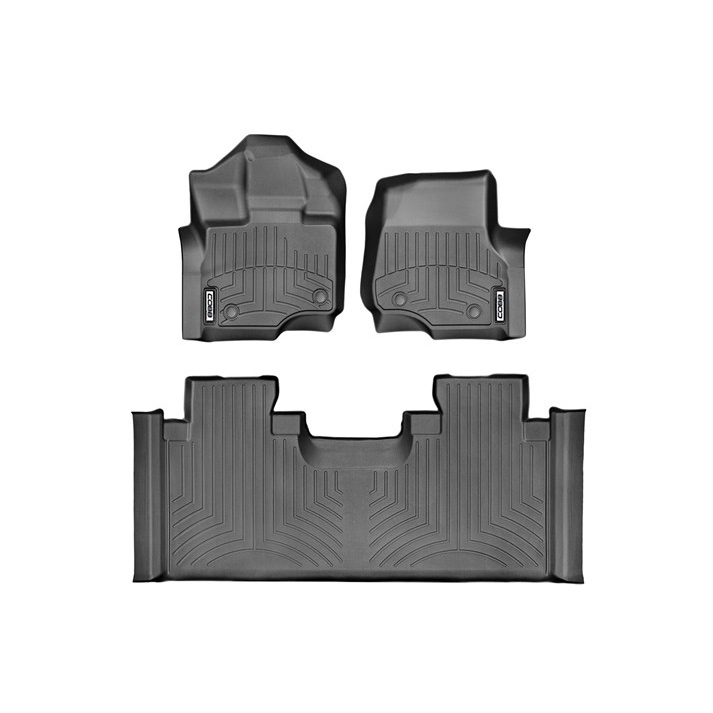 COBB x WeatherTech Front and Rear FloorLiner Ford F-150 Raptor SuperCab 2017-2019