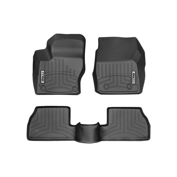 COBB x WeatherTech FloorLiner and Rear FloorLiner Set Ford Focus RS 2016-2018
