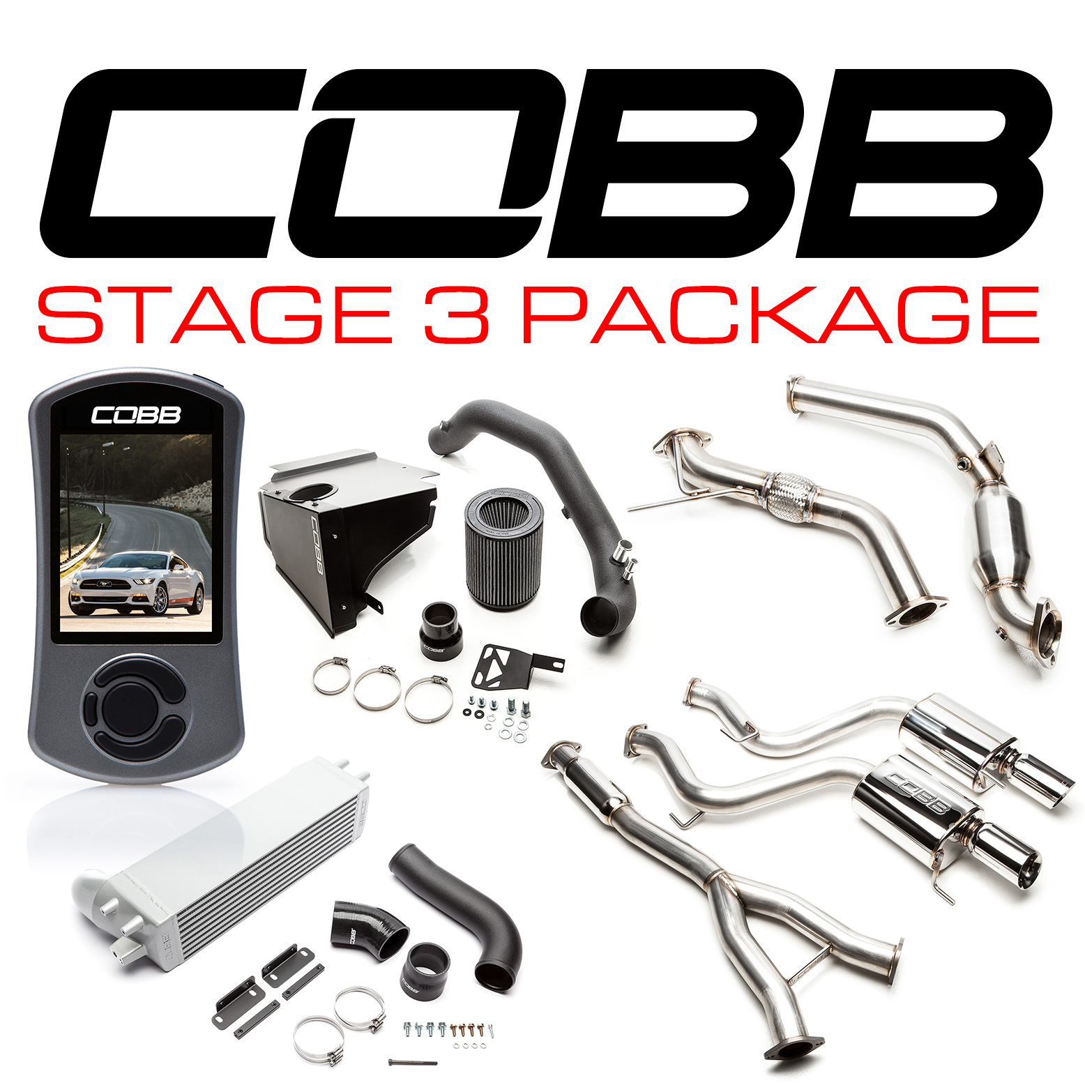 Ford Stage 3 Power Package Mustang Ecoboost 2015-2018