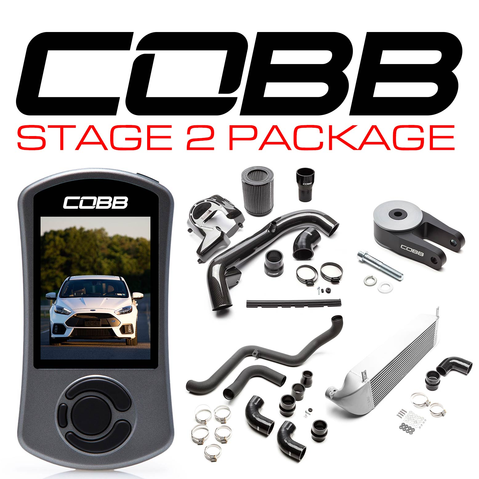 Ford Stage 2 Power Package Silver Focus RS 2016-2018