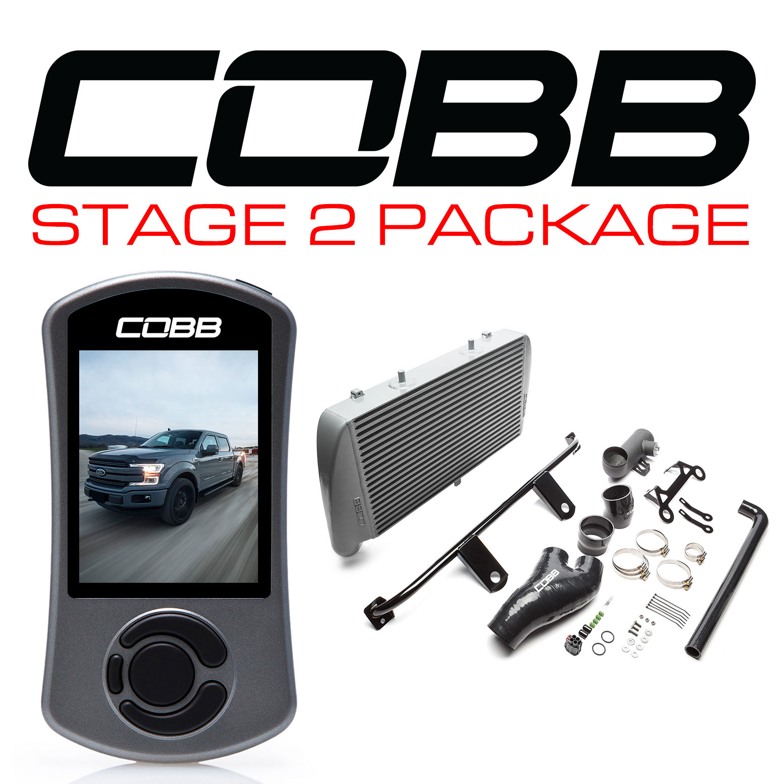 Ford Stage 2 Power Package Silver (No Intake) F-150 Ecoboost 3.5L 2017-2019
