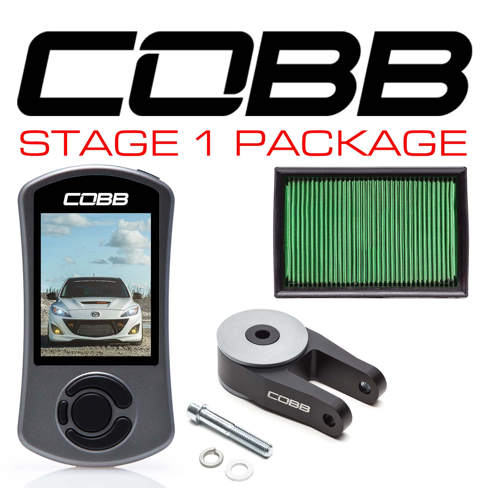 Mazdaspeed3 Stage 1 Power Package Gen2 Mazdaspeed 2010-2013
