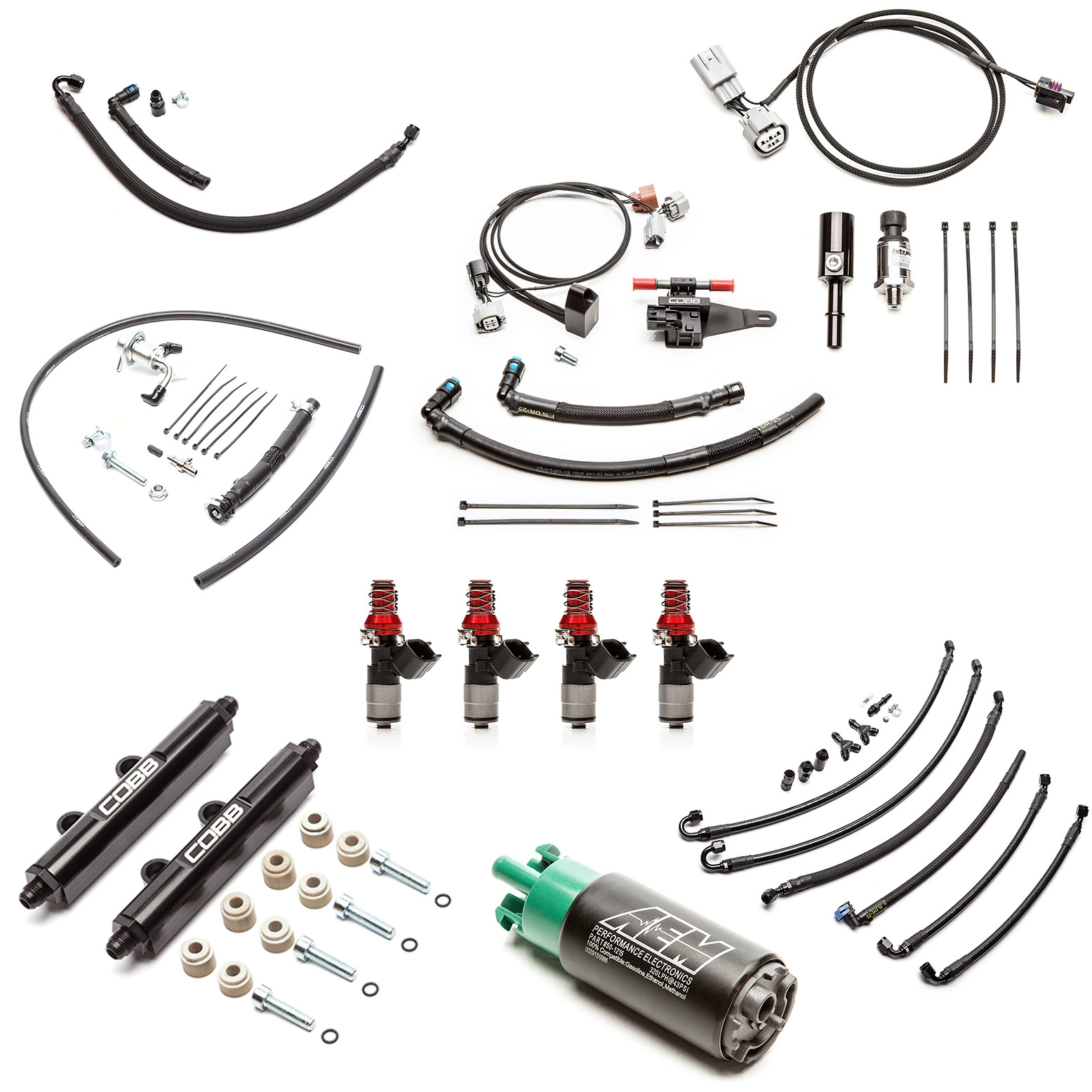 Subaru Fuel System Package + Flex Fuel STI 2008-2020