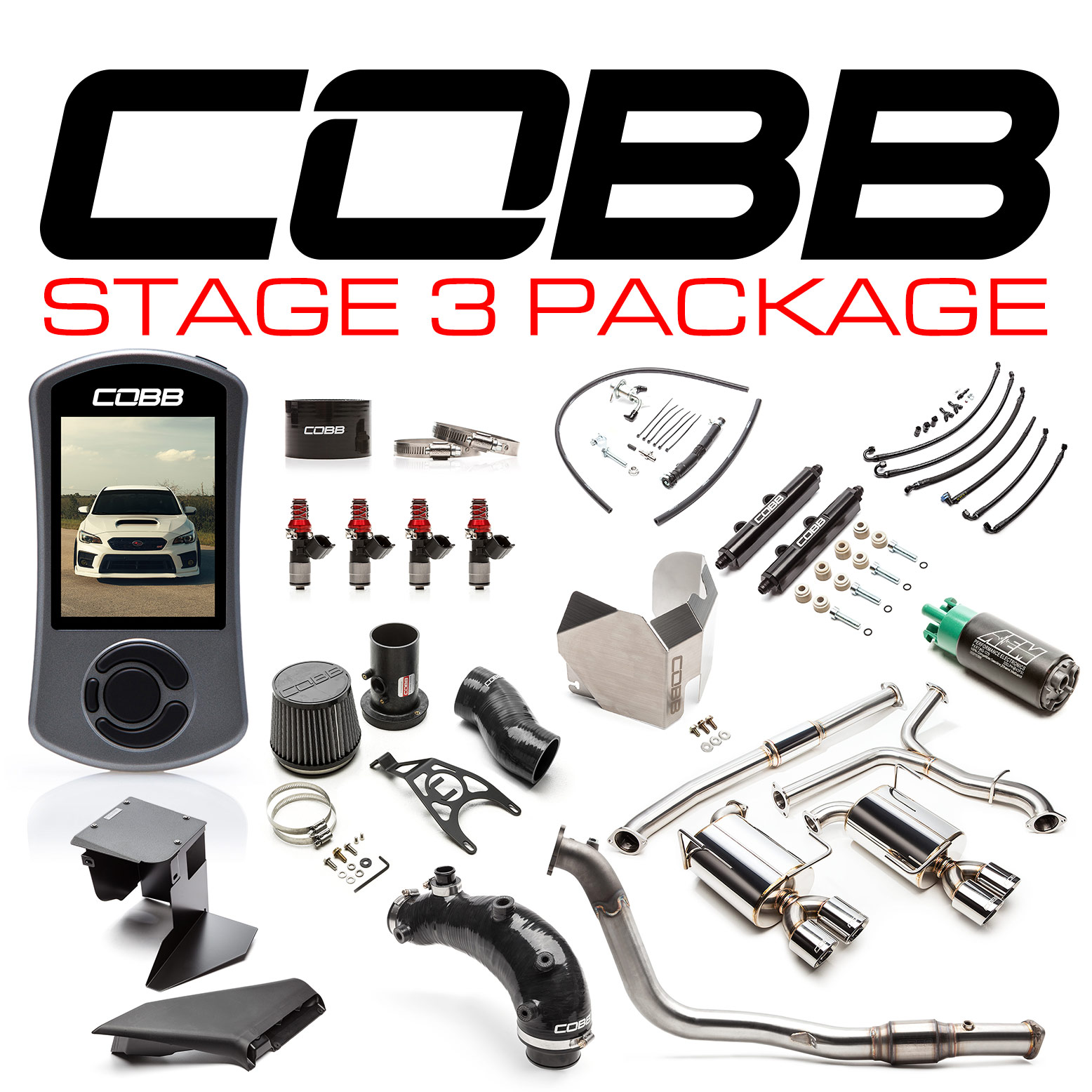 Subaru Stage 3 Power Package STI 2019-2020, Type RA 2018