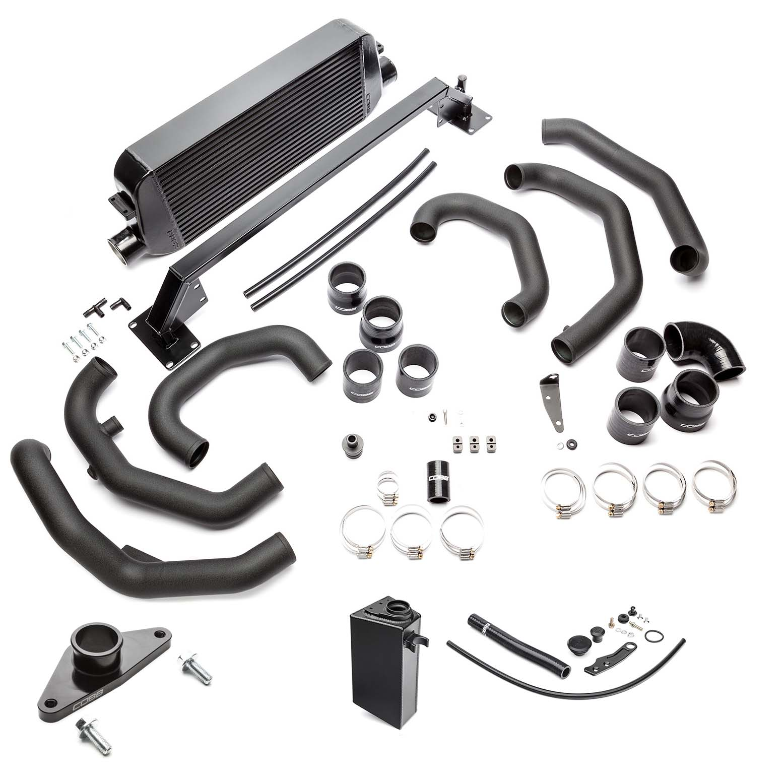 Subaru Front Mount Intercooler Kit (Black) STI 2015-2020