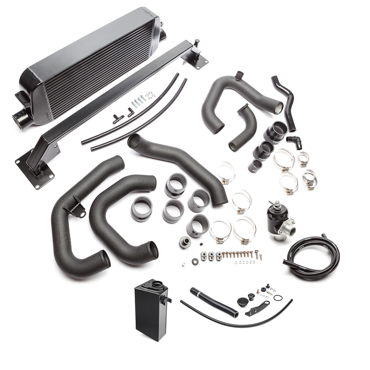 Subaru Front Mount Intercooler Kit (Black) WRX 2015-2020