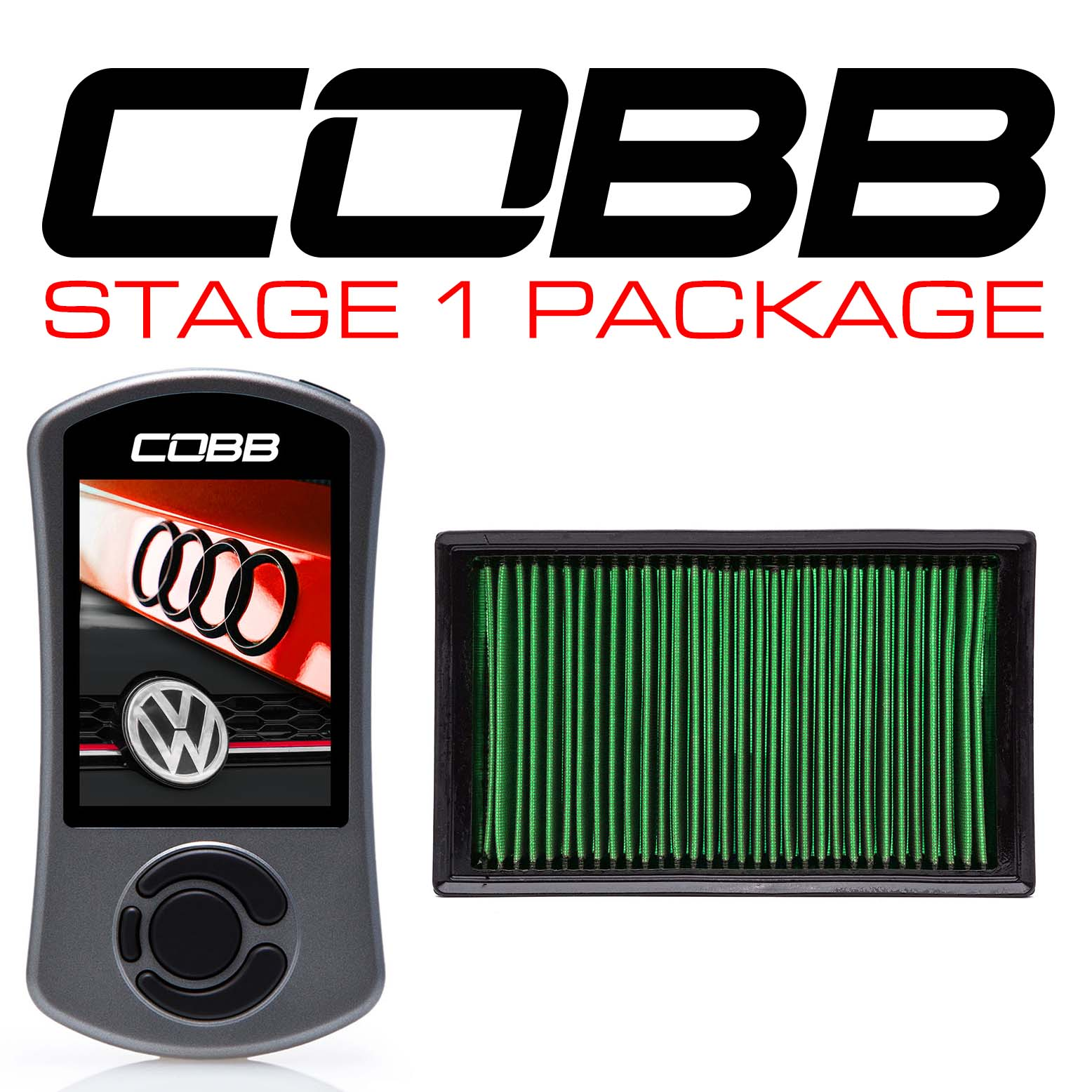 Stage 1 Power Package for Volkswagen (Mk7/Mk7.5) GTI, Jetta (A7) GLI, Audi A3 (8V)