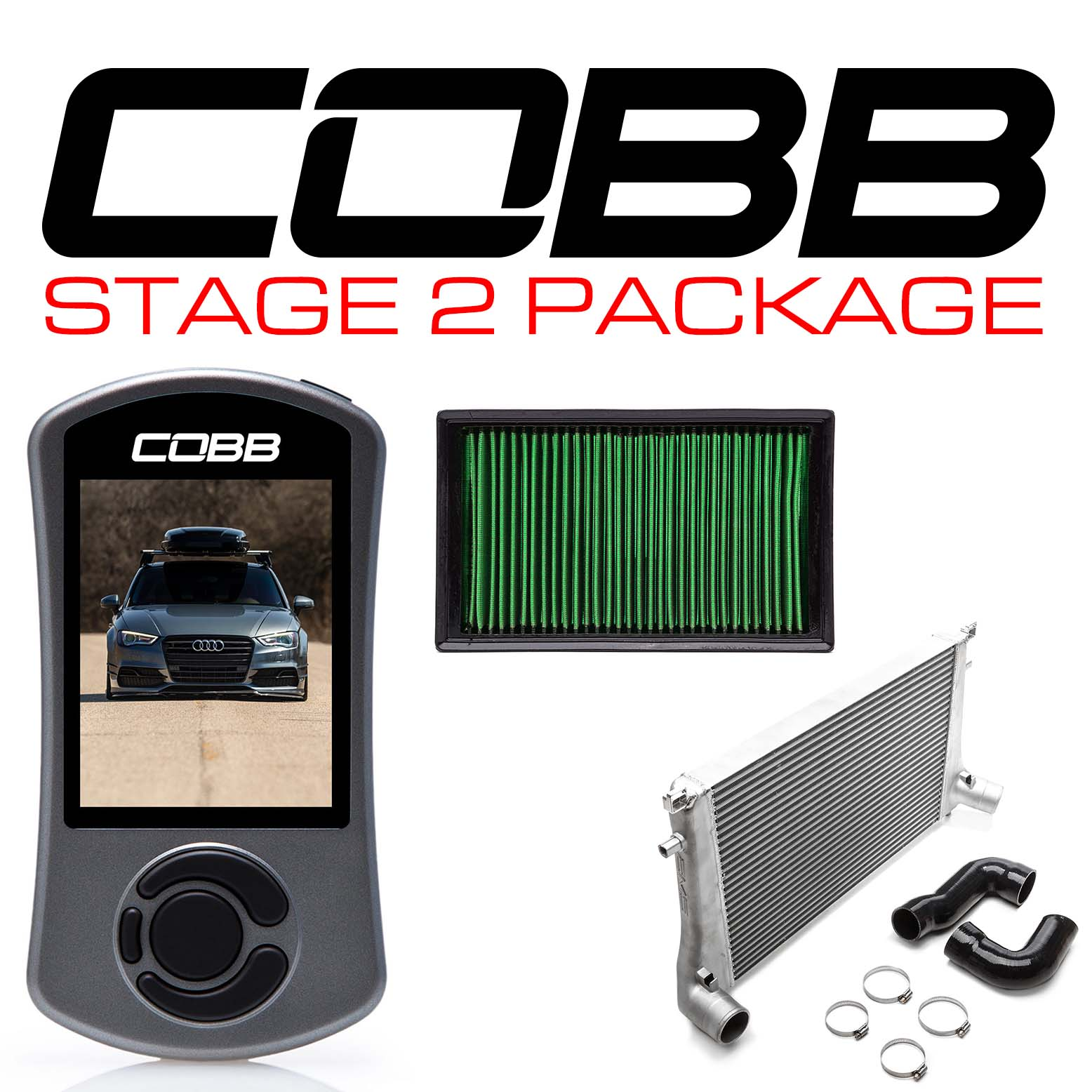 Audi Stage 2 Power Package A3 FWD/Quattro (8V)