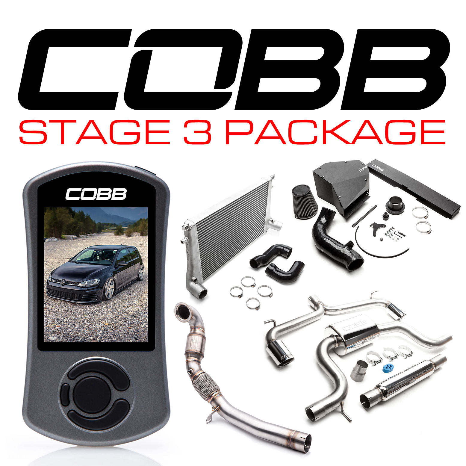 COBB Tuning - Volkswagen Stage 3 Power Package with DSG