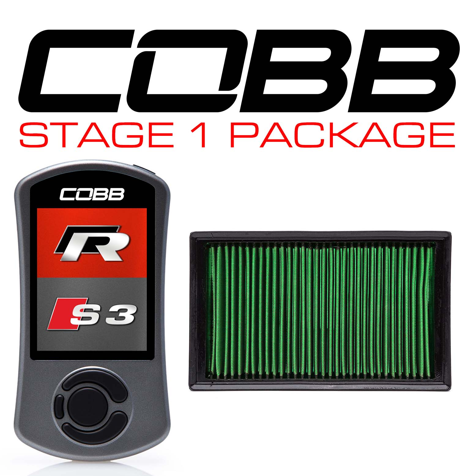 Stage 1 Power Package with DSG / S tronic Flashing for Volkswagen (Mk7/Mk7.5) Golf R, Audi S3 (8V)